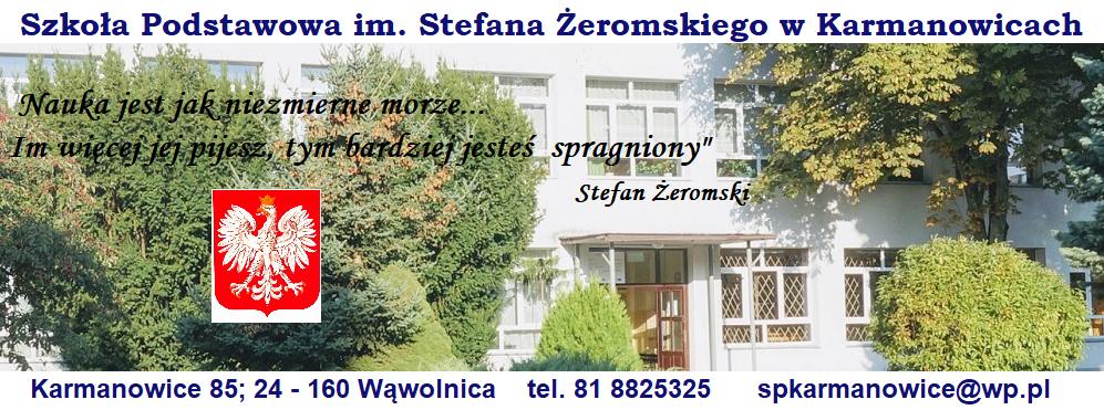 Szkoła Podstawowa im. Stefana Żeromskiego w Karmanowicach